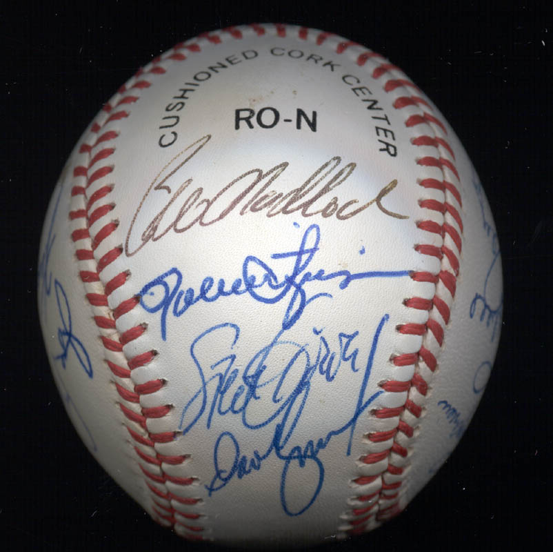 Image 1 for Rollie Fingers - Autographed Signed Baseball with co-signers - HFSID 117559