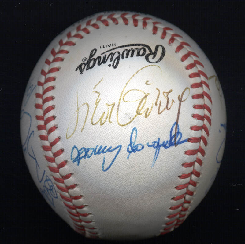 Image 3 for Rollie Fingers - Autographed Signed Baseball with co-signers - HFSID 117559