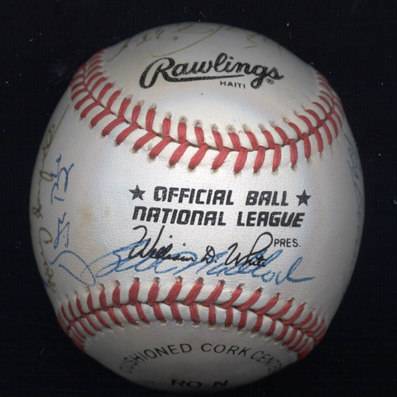 Image 6 for Rollie Fingers - Autographed Signed Baseball with co-signers - HFSID 117559