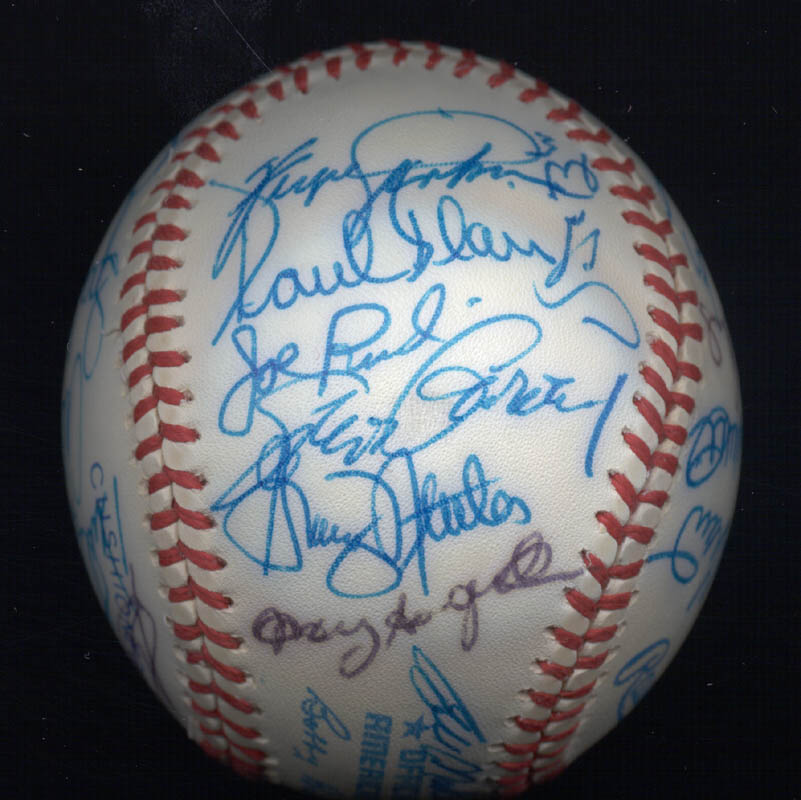 Image 5 for Kent 'Teke' Tekulve - Autographed Signed Baseball with co-signers - HFSID 117563