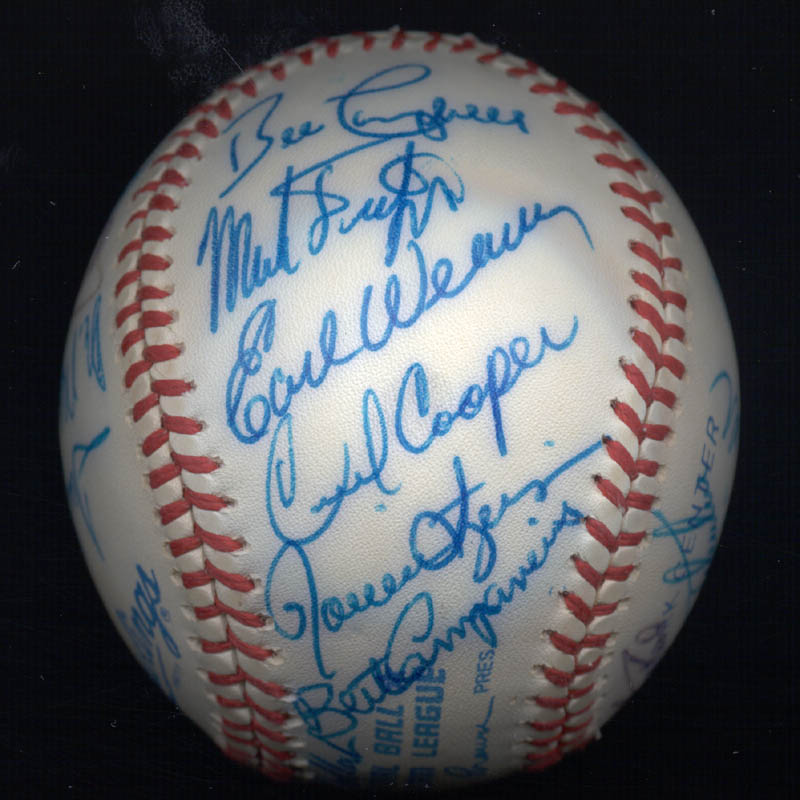 Image 6 for Kent 'Teke' Tekulve - Autographed Signed Baseball with co-signers - HFSID 117563