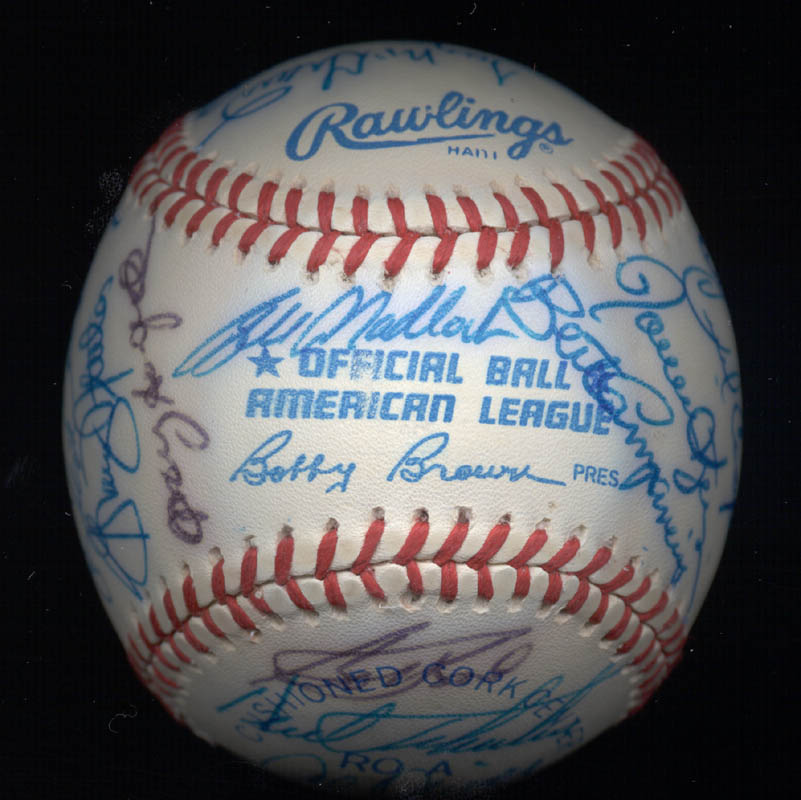 Image 7 for Kent 'Teke' Tekulve - Autographed Signed Baseball with co-signers - HFSID 117563