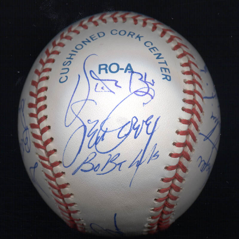 Image 3 for Kent 'Teke' Tekulve - Autographed Signed Baseball with co-signers - HFSID 117564