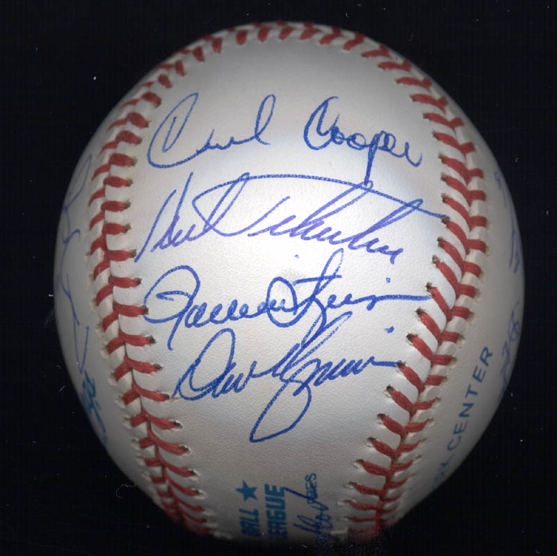 Image 5 for Kent 'Teke' Tekulve - Autographed Signed Baseball with co-signers - HFSID 117564