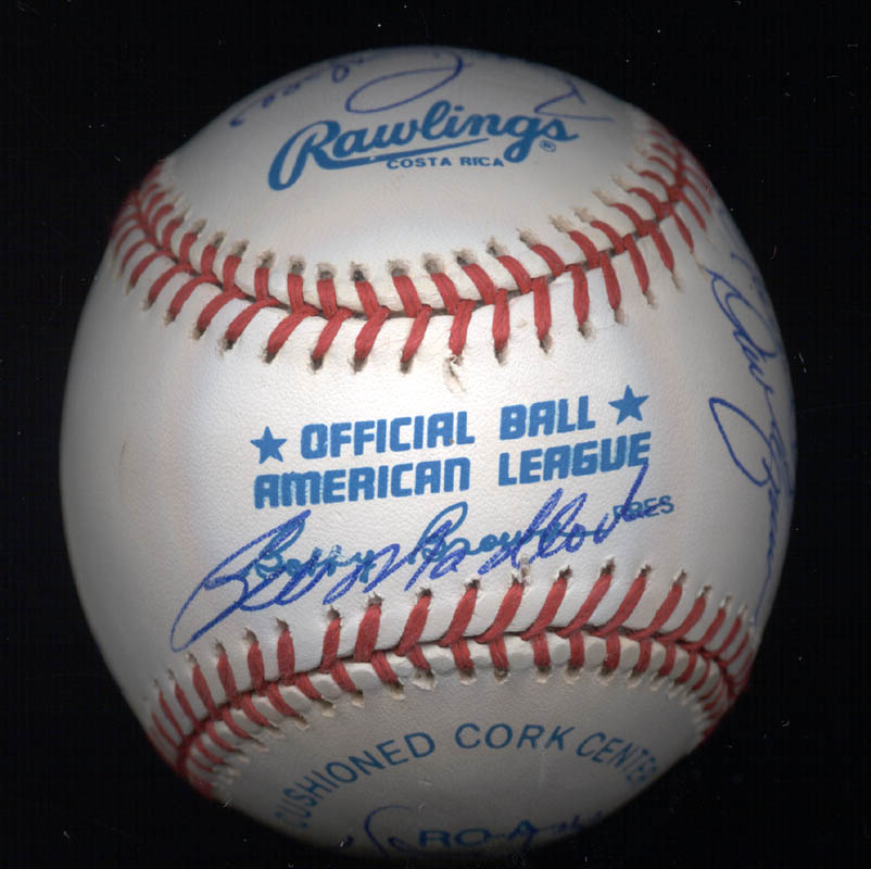 Image 7 for Kent 'Teke' Tekulve - Autographed Signed Baseball with co-signers - HFSID 117564