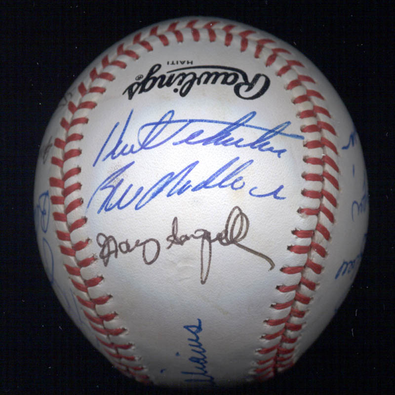 Image 3 for Bobby Bonds - Autographed Signed Baseball with co-signers - HFSID 117567