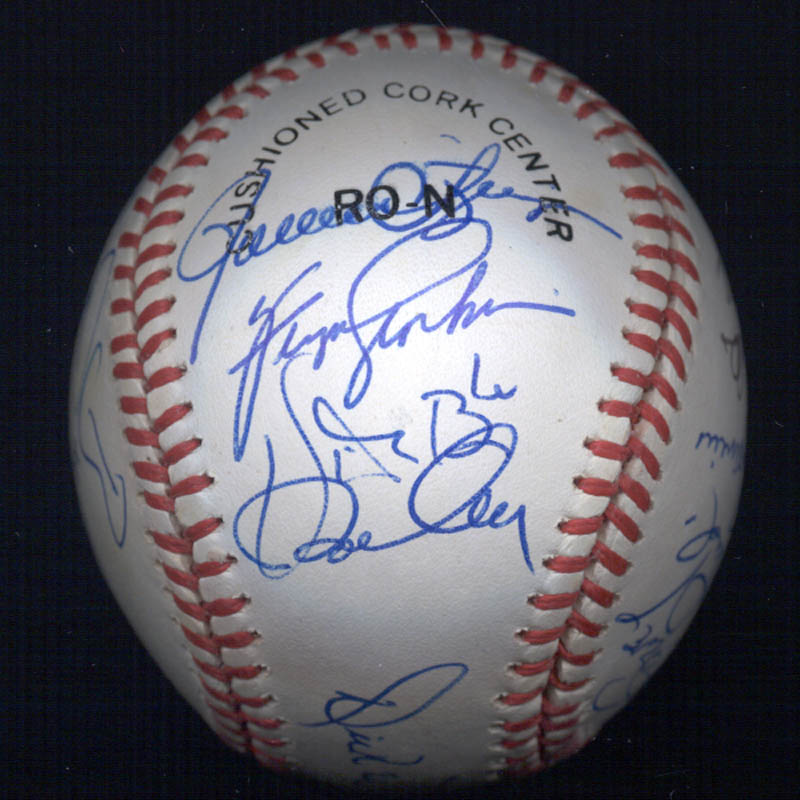 Image 4 for Bobby Bonds - Autographed Signed Baseball with co-signers - HFSID 117567