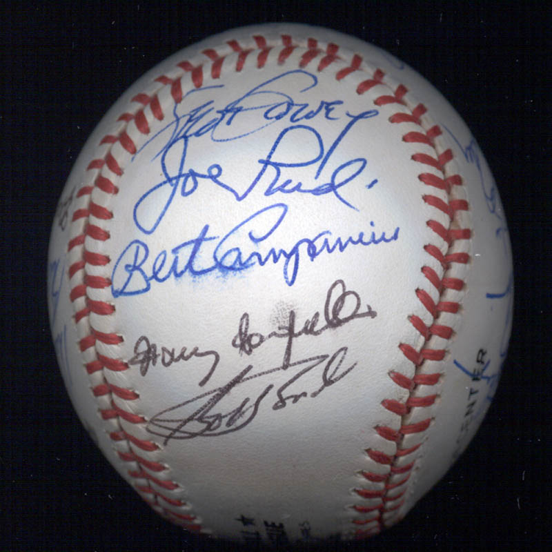 Image 5 for Bobby Bonds - Autographed Signed Baseball with co-signers - HFSID 117567