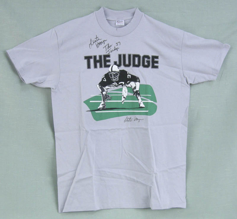 Image 1 for Lester 'The Judge' Hayes - Tee Shirt Signed - HFSID 118218