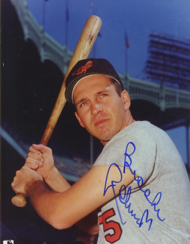 Image 1 for Brooks Robinson - Autographed Signed Photograph - HFSID 124595