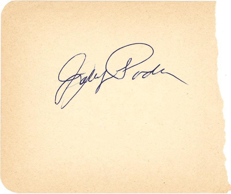 Image 1 for Johnny Podres - Autograph co-signed by: Clem Labine - HFSID 124758