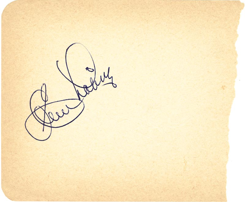 Image 3 for Johnny Podres - Autograph co-signed by: Clem Labine - HFSID 124758