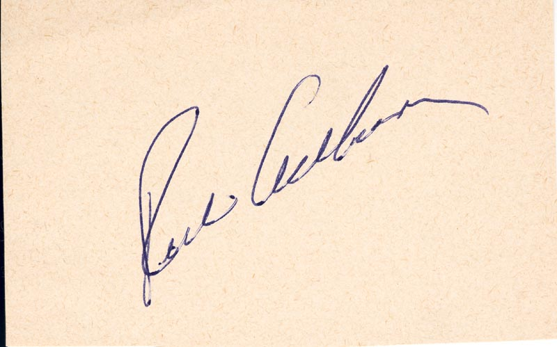 Image 1 for Richie 'Whitey' Ashburn - Autograph - HFSID 124792