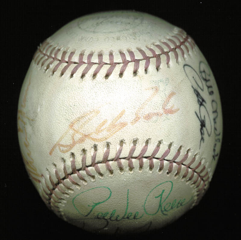 Image 5 for Thurman Munson - Autographed Signed Baseball with co-signers - HFSID 124848