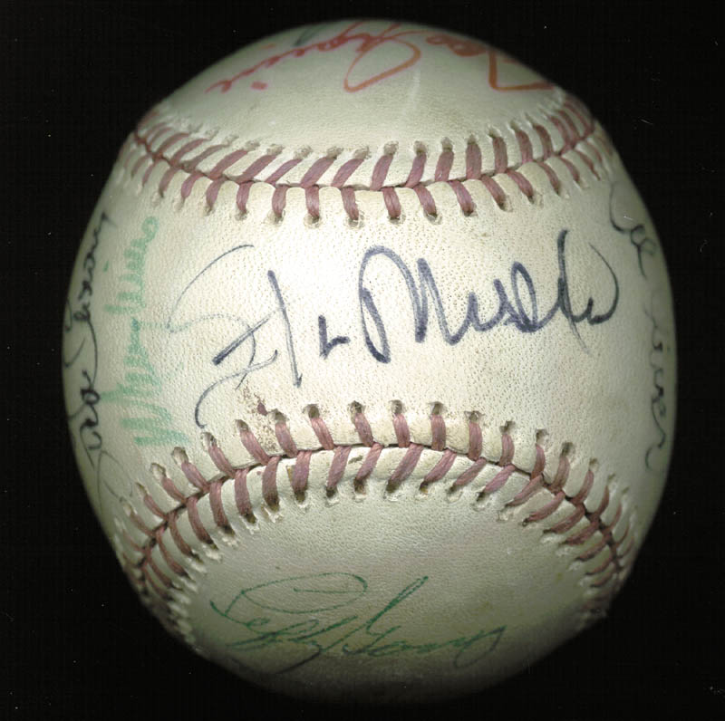 Image 7 for Thurman Munson - Autographed Signed Baseball with co-signers - HFSID 124848