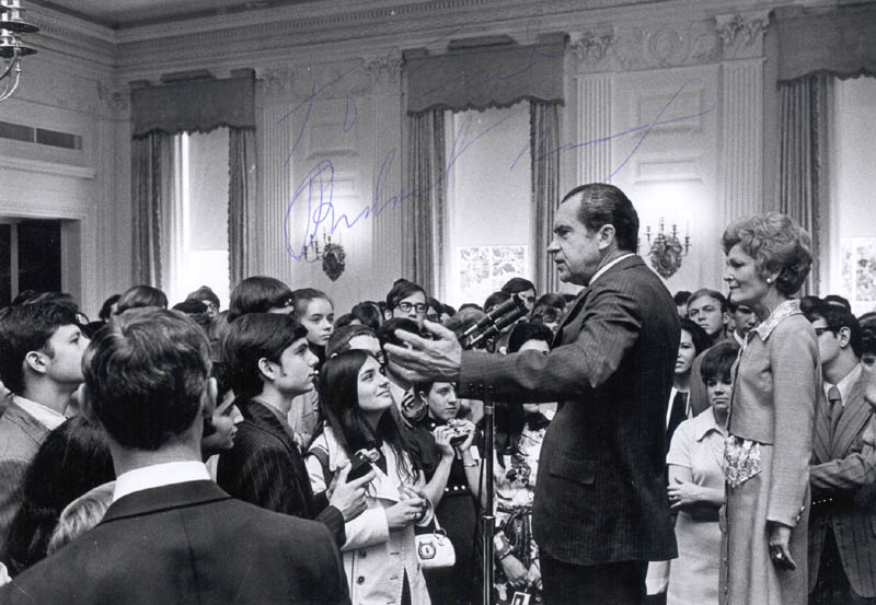 Image 1 for President Richard M. Nixon - Autographed Inscribed Photograph - HFSID 124872