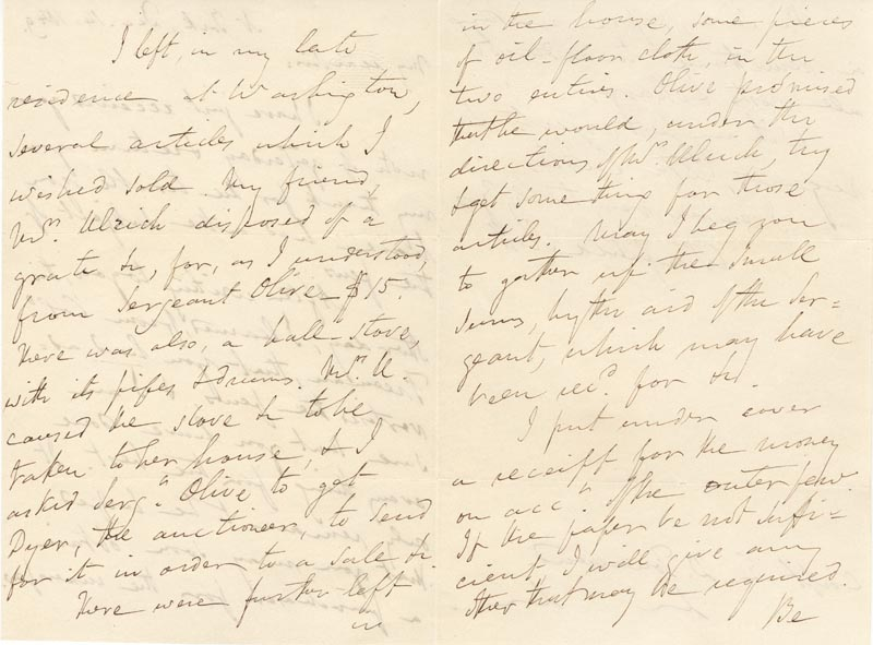 Image 3 for Lt. General Winfield Scott - Autograph Letter Signed 12/14/1849 - HFSID 131638