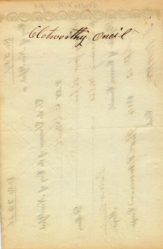Image 3 for Governor Dewitt Clinton - Manuscript Document Signed 09/12/1814 - HFSID 131676