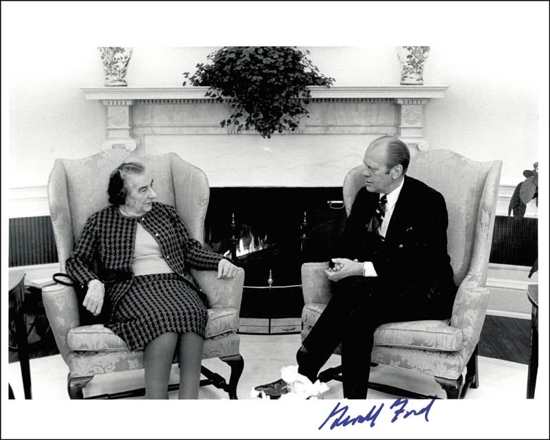 Image 1 for President Gerald R. Ford - Autographed Signed Photograph - HFSID 131943