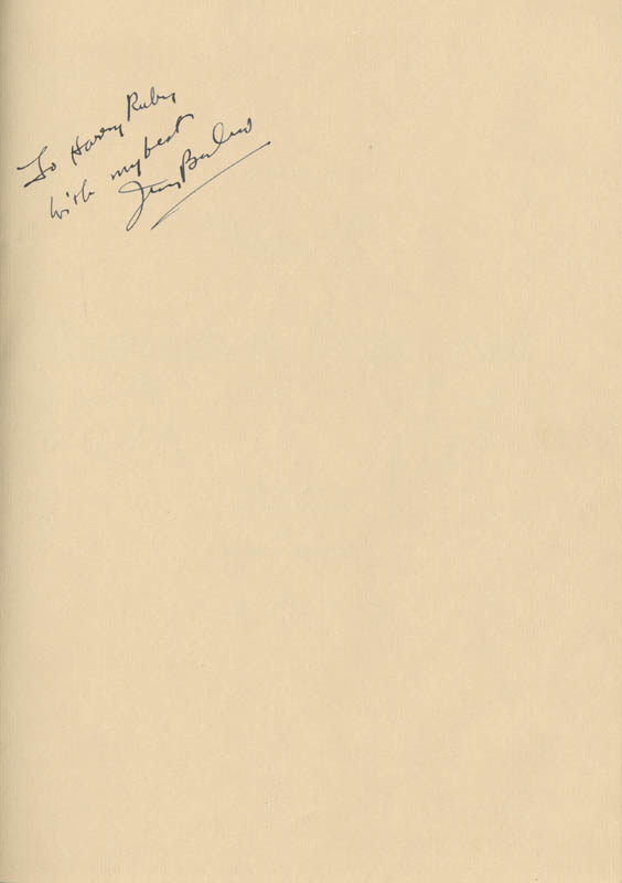 Image 1 for Irving Berlin - Inscribed Musical Score Signed Circa 1940 - HFSID 132013