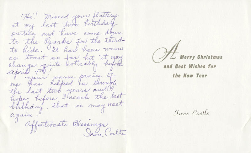 Image 1 for Irene Castle - Autograph Letter Signed - HFSID 132042