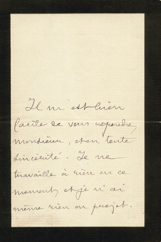 Image 3 for Pierre Loti - Autograph Letter Signed - HFSID 1327