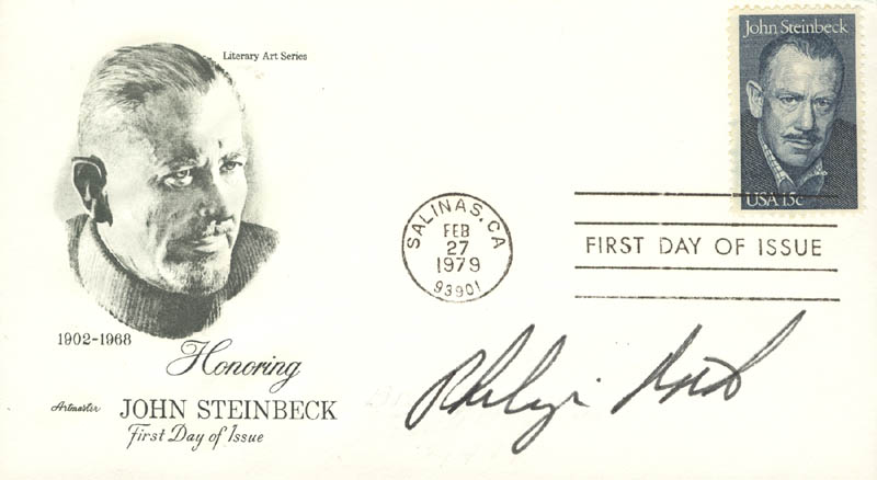 Image 1 for Philip Roth - First Day Cover Signed - HFSID 13299