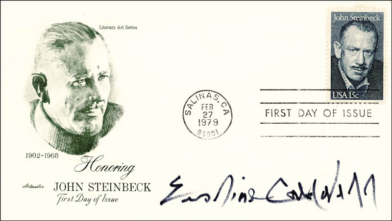 Image 1 for Erskine Caldwell - First Day Cover Signed - HFSID 13303
