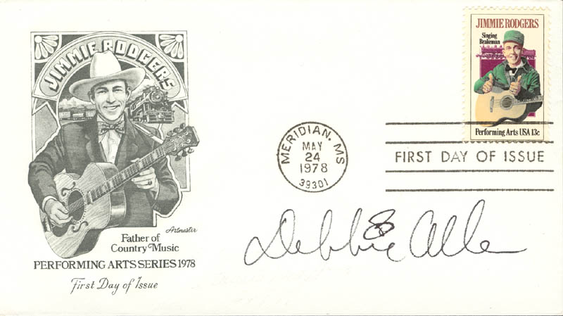 Image 1 for Debbie Allen - First Day Cover Signed - HFSID 13347