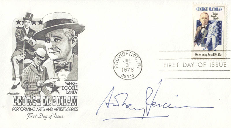 Image 1 for Anthony Perkins - First Day Cover Signed - HFSID 13411