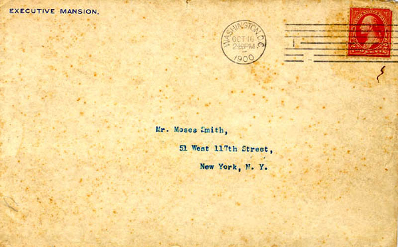 Image 4 for President William Mckinley - Typed Letter Signed 10/15/1900 - HFSID 13441