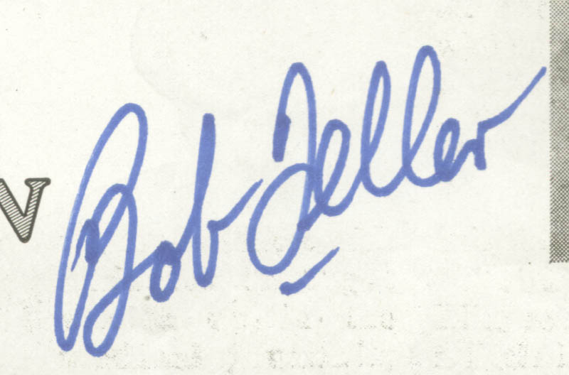 Image 3 for Bob Feller - Biography Signed - HFSID 135649
