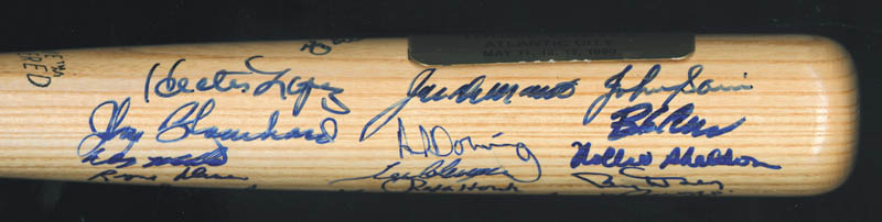 Image 6 for The 1961 New York Yankees - Baseball Bat Signed Circa 1990 with co-signers - HFSID 136433