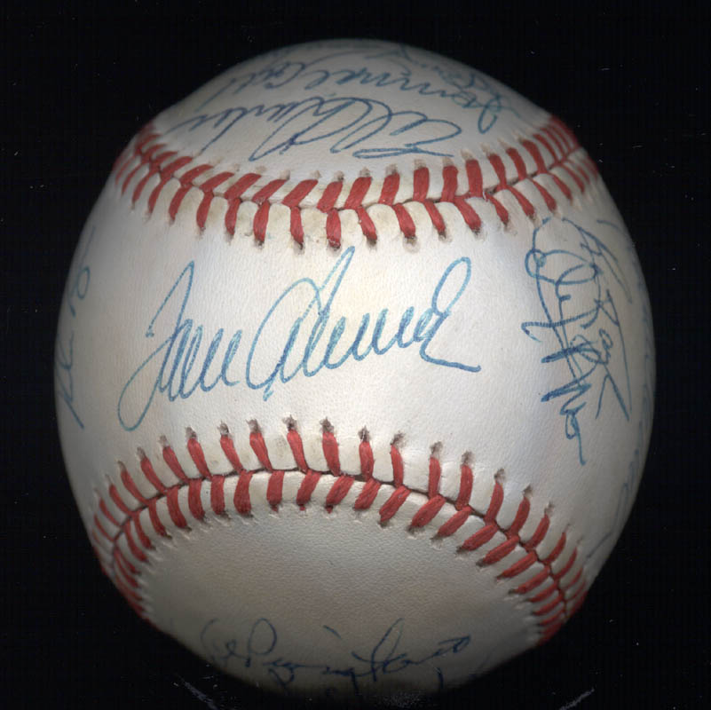 Image 3 for The 1969 New York Mets - Autographed Signed Baseball Circa 1989 with co-signers - HFSID 136466