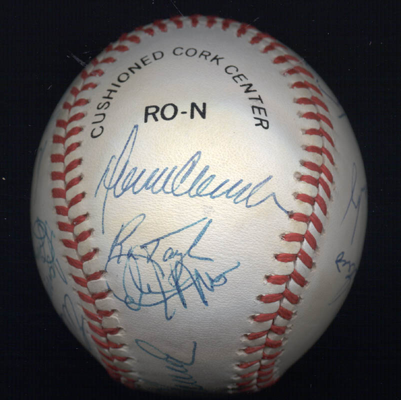 Image 4 for The 1969 New York Mets - Autographed Signed Baseball Circa 1989 with co-signers - HFSID 136466