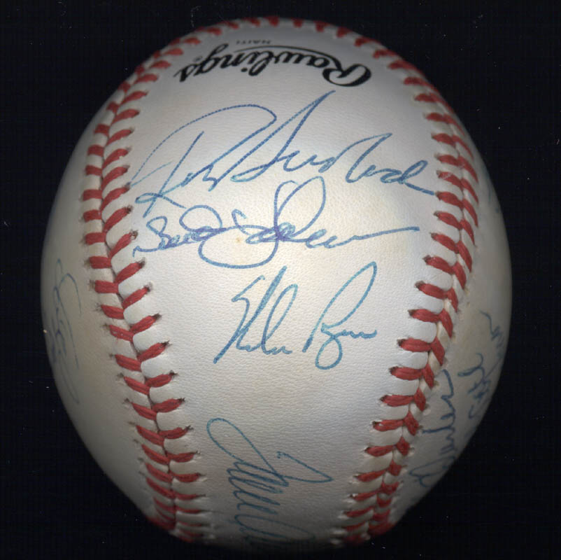 Image 5 for The 1969 New York Mets - Autographed Signed Baseball Circa 1989 with co-signers - HFSID 136466