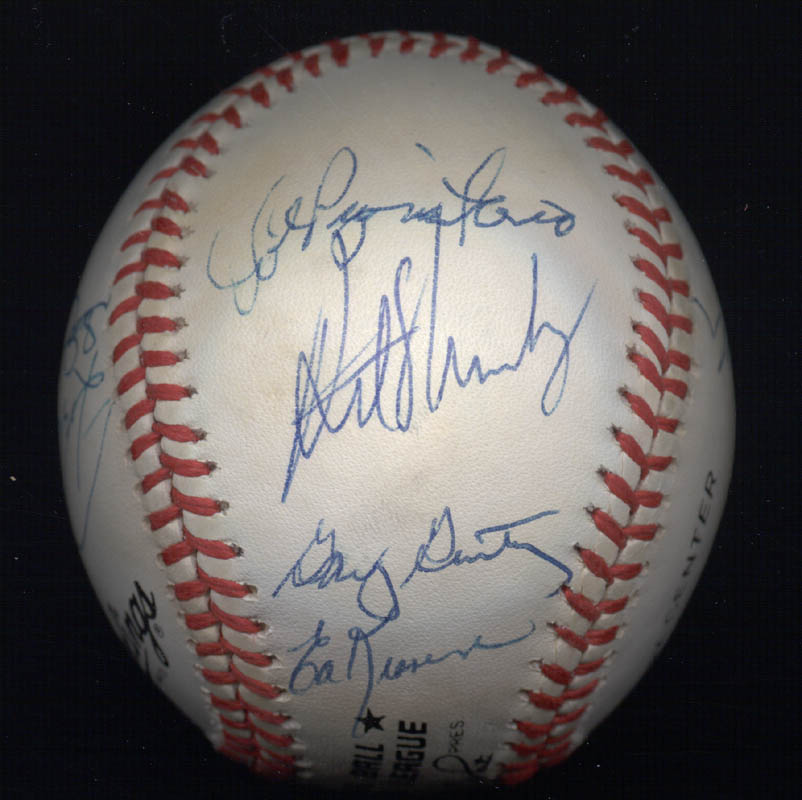 Image 6 for The 1969 New York Mets - Autographed Signed Baseball Circa 1989 with co-signers - HFSID 136466