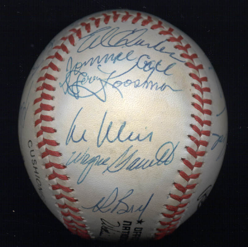 Image 7 for The 1969 New York Mets - Autographed Signed Baseball Circa 1989 with co-signers - HFSID 136466