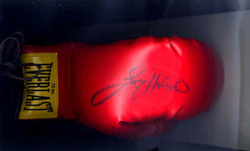 Image 1 for Larry Holmes - Boxing Gloves Signed - HFSID 136789