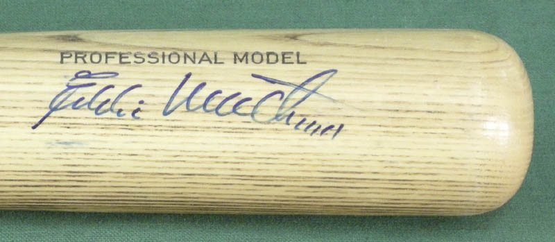 Image 4 for Eddie Mathews - Baseball Bat Signed co-signed by: Harmon Killebrew - HFSID 137102