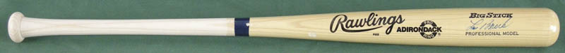 Image 1 for Lou Brock - Baseball Bat Signed - HFSID 137115