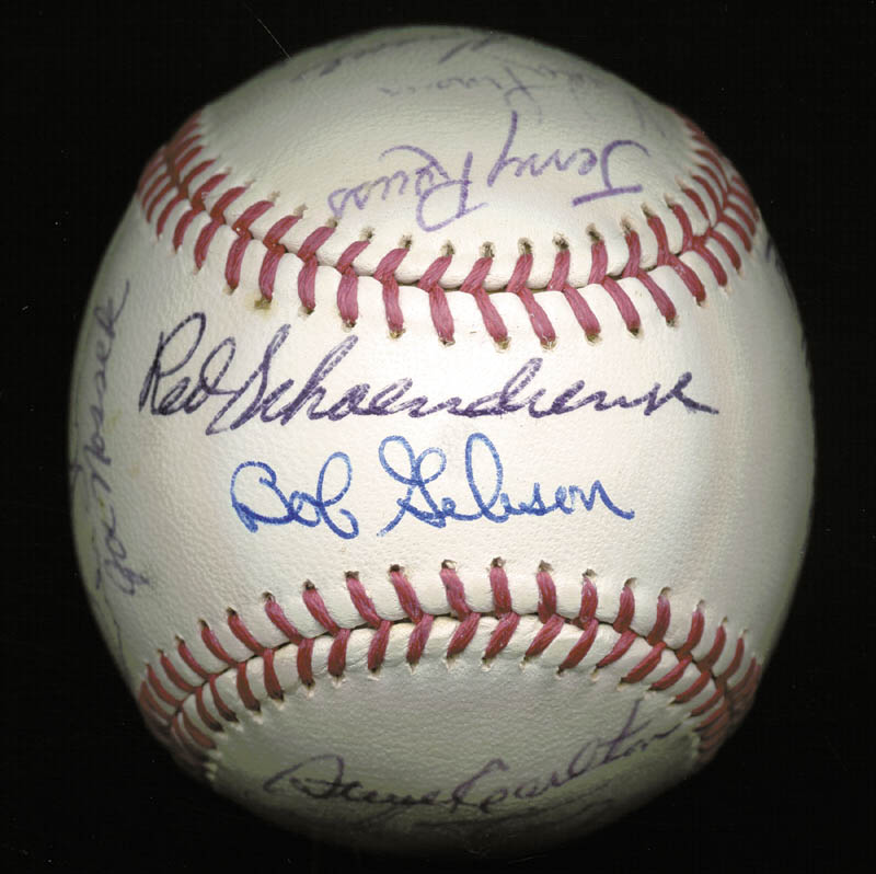 Image 1 for The St. Louis Cardinals - Inscribed Baseball Signed Circa 1969 with co-signers - HFSID 137227