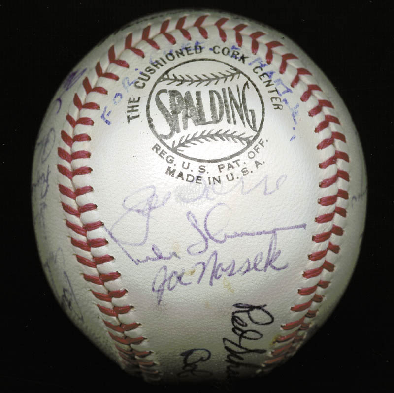 Image 4 for The St. Louis Cardinals - Inscribed Baseball Signed Circa 1969 with co-signers - HFSID 137227