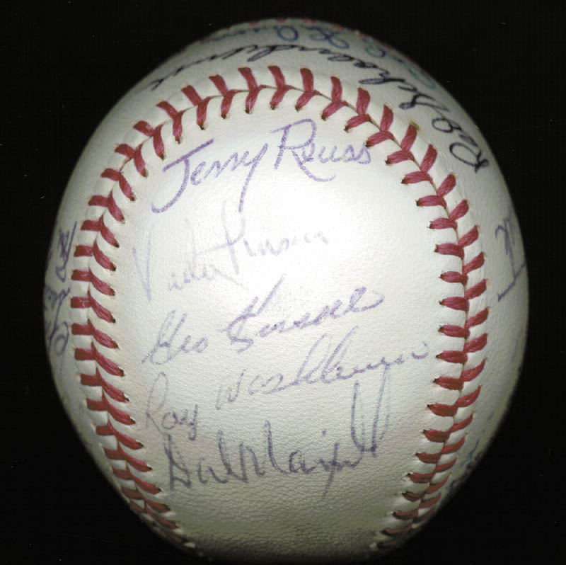 Image 5 for The St. Louis Cardinals - Inscribed Baseball Signed Circa 1969 with co-signers - HFSID 137227