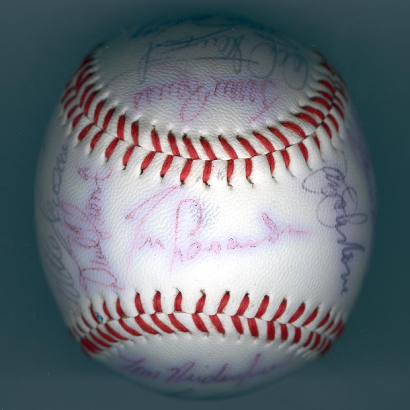 Image 1 for The Los Angeles Dodgers - Autographed Signed Baseball with co-signers - HFSID 137251