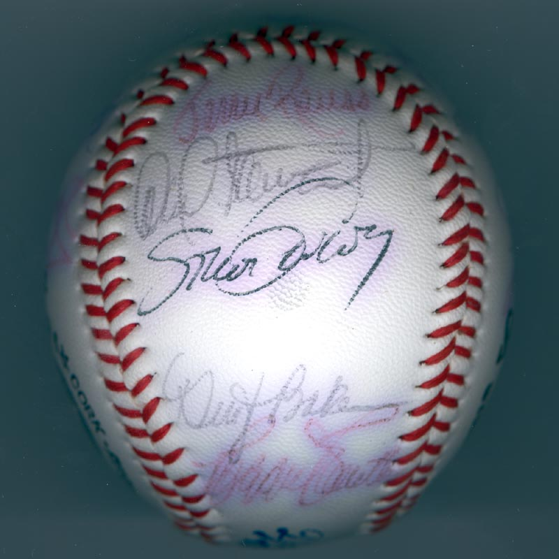 Image 5 for The Los Angeles Dodgers - Autographed Signed Baseball with co-signers - HFSID 137251