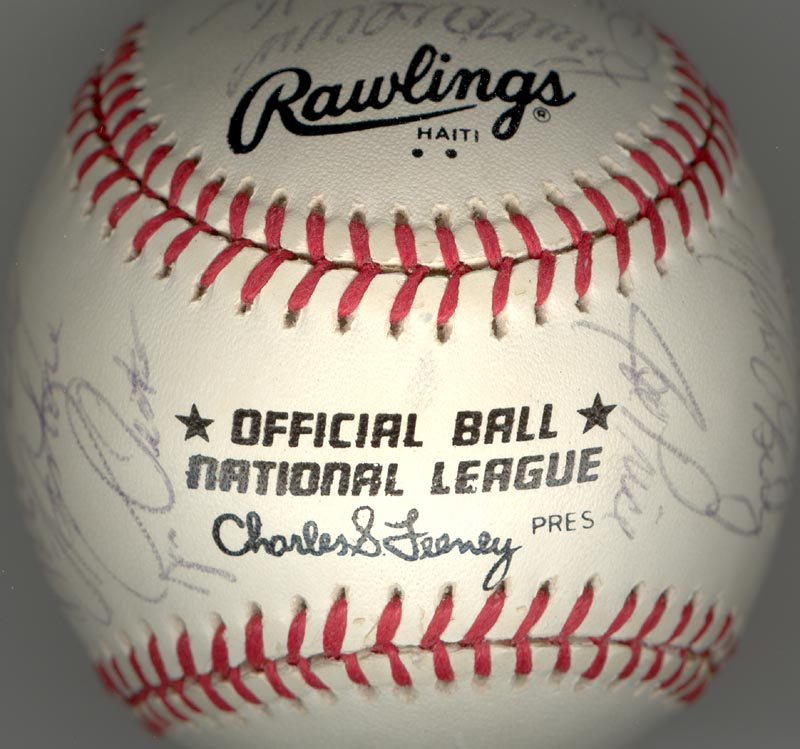 Image 1 for Cincinnati Reds - Autographed Signed Baseball Circa 1979 with co-signers - HFSID 137265