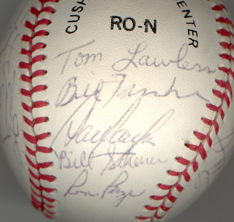 Image 3 for Cincinnati Reds - Autographed Signed Baseball Circa 1979 with co-signers - HFSID 137265
