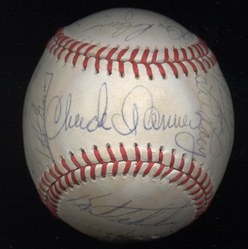 Image 1 for The Pittsburgh Pirates - Autographed Signed Baseball Circa 1980 with co-signers - HFSID 137266