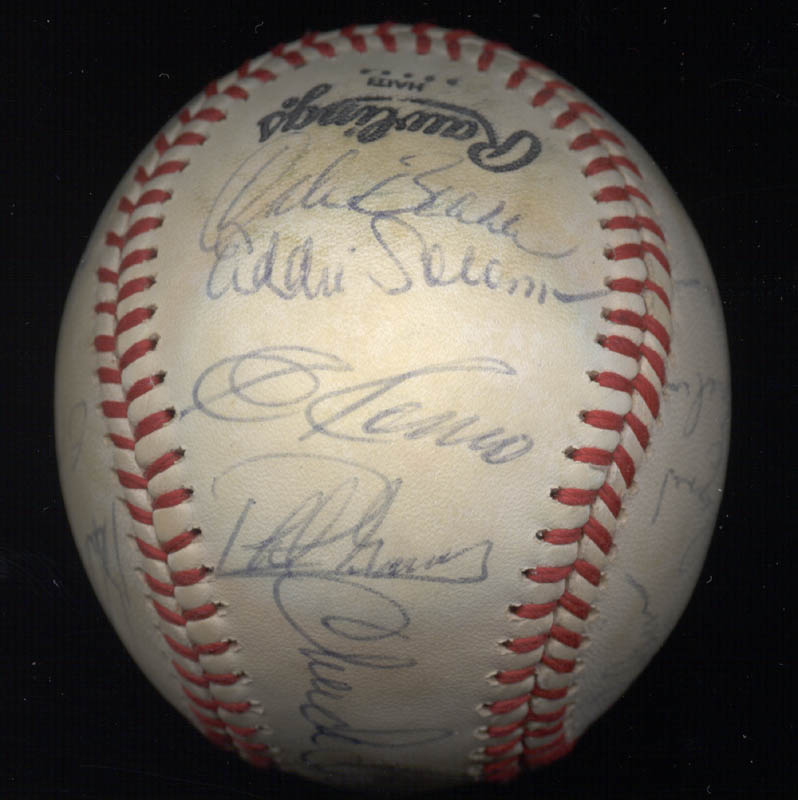 Image 3 for The Pittsburgh Pirates - Autographed Signed Baseball Circa 1980 with co-signers - HFSID 137266